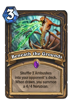 Beneath the Grounds Card Image