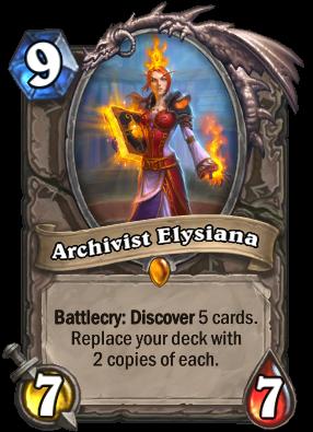 Archivist Elysiana Card Image