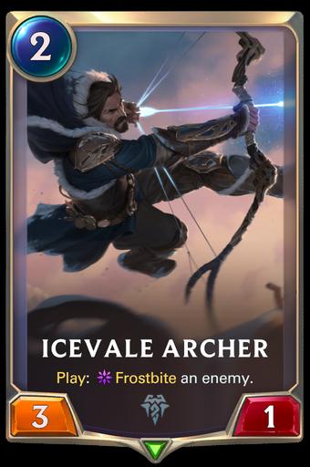 Icevale Archer Card Image
