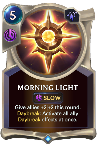 Morning Light Card Image