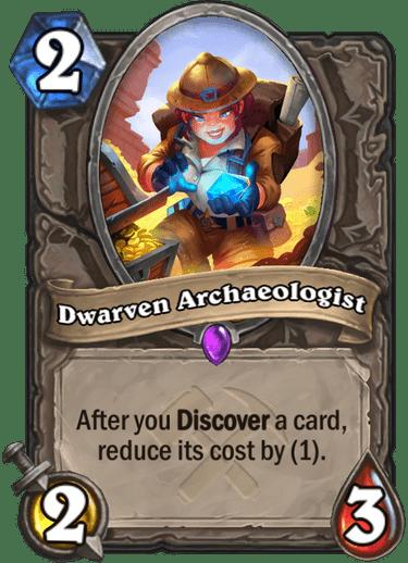 Dwarven Archaeologist Card Image