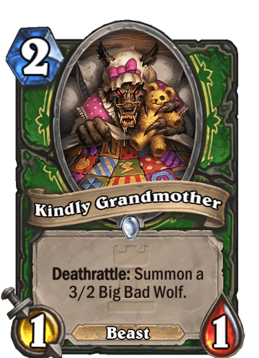 Kindly Grandmother Card Image