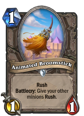 Animated Broomstick Card Image