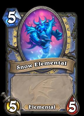 Snow Elemental Card Image