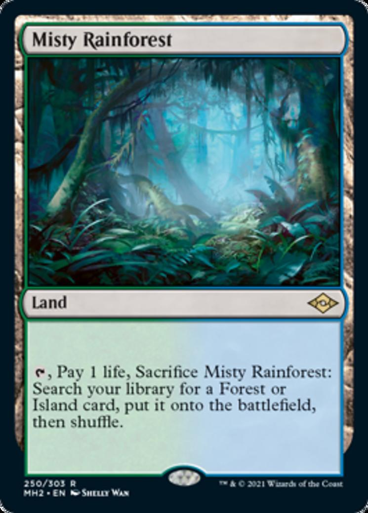 Misty Rainforest Card Image