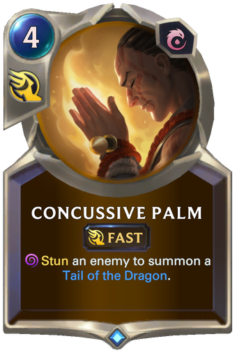 Concussive Palm Card Image