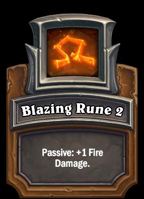 Blazing Rune 2 Card Image