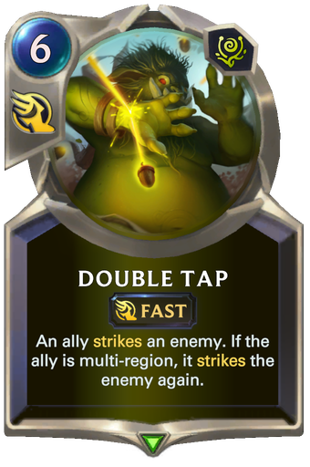 Double Tap Card Image