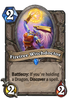 Firetree Witchdoctor Card Image