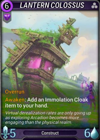 Lantern Colossus Card Image