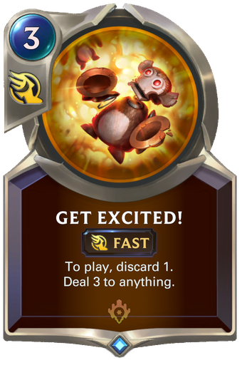 Get Excited! Card Image
