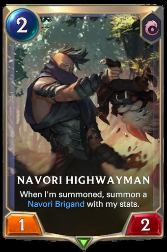 Navori Highwayman Card Image