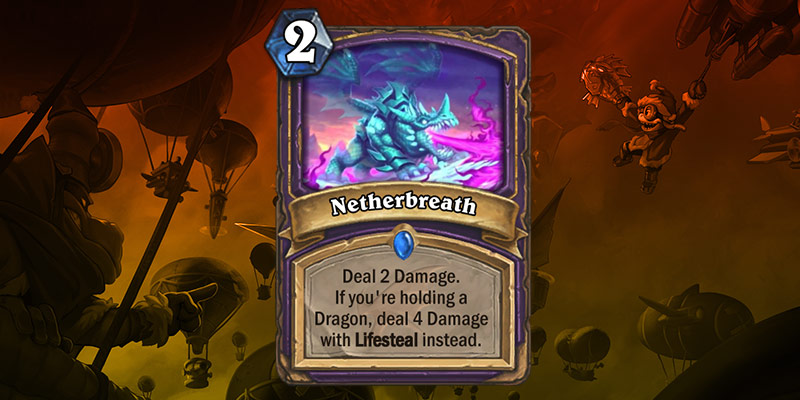 Warlock Card Reveals - Crazed Netherwing & Nether Breath