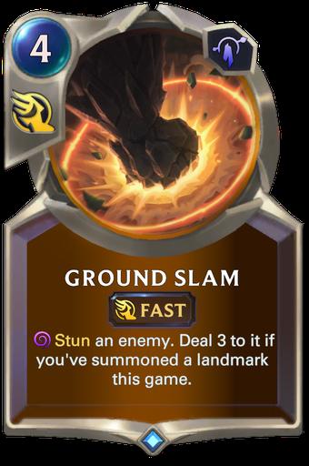 Ground Slam Card Image
