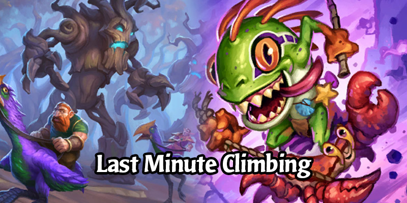 Last Minute Hearthstone Ladder Climbing? Here Are The Best Decks!