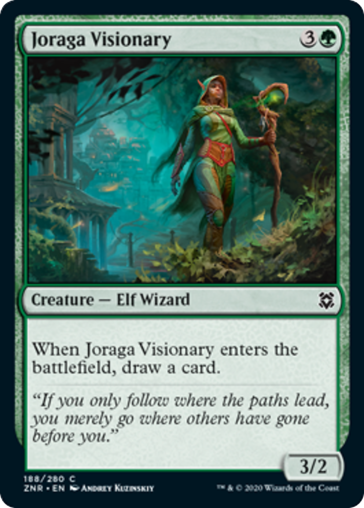 Joraga Visionary Card Image