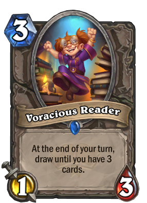 Voracious Reader Card Image