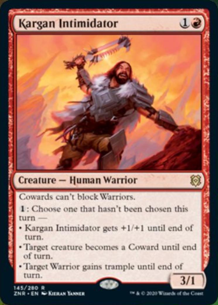 Kargan Intimidator Card Image