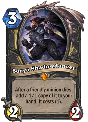Sonya Shadowdancer Card Image
