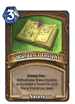 Warden's Insight Card Image