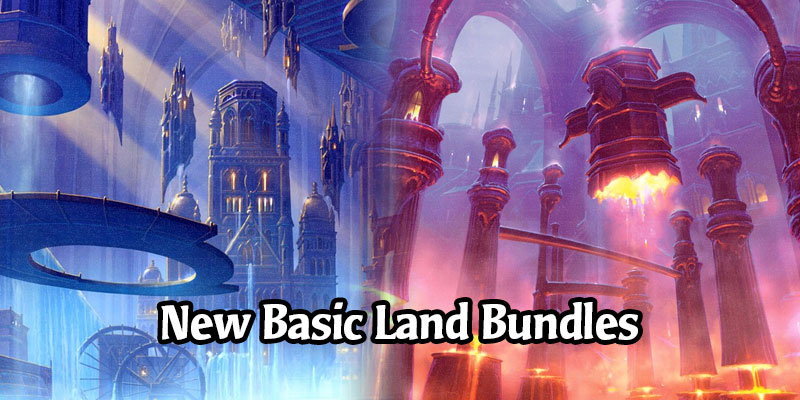 Rise of the Eldrazi and Return to Ravnica Basic Lands Now in the MTG Arena Store