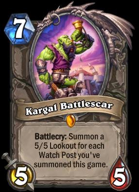 Kargal Battlescar Card Image
