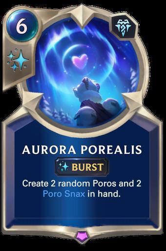 Aurora Porealis Card Image