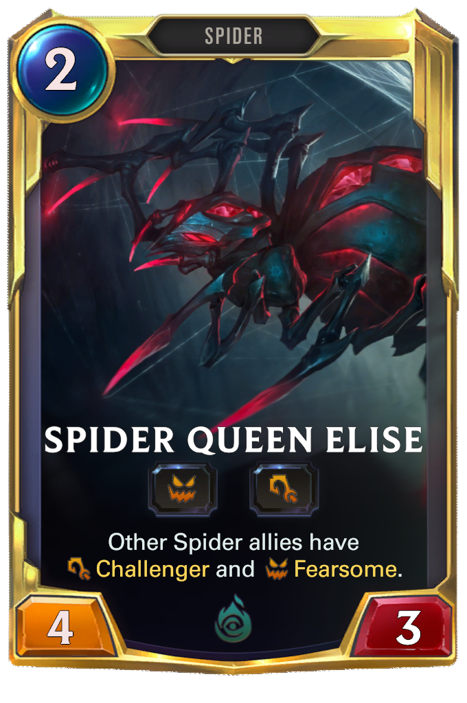 Spider Queen Elise Card Image
