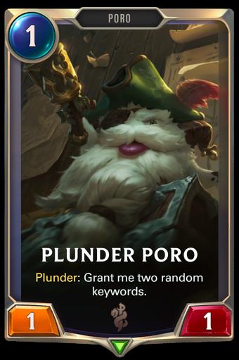 Plunder Poro Card Image