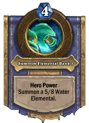 Summon Elemental Rank 3 Card Image