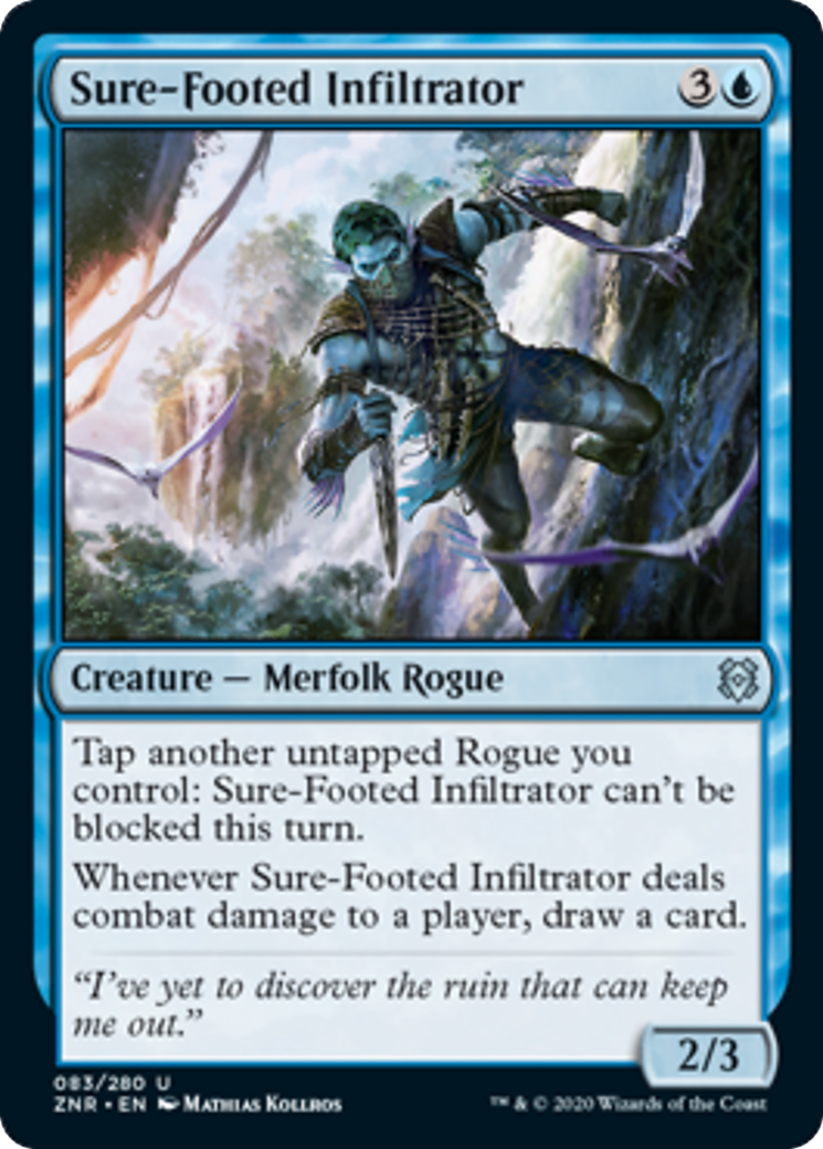 Sure-Footed Infiltrator Card Image