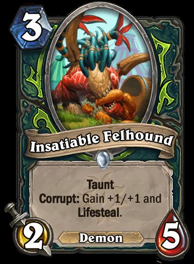 Insatiable Felhound Card Image