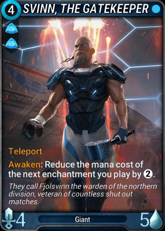 Svinn, the Gatekeeper Card Image