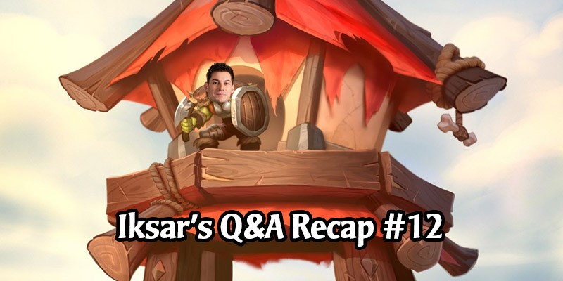 Dean Ayala's Community Q&A #12 - Barrens Balance Meeting on Monday, AI Ladder, Core Set, Heroic Battlegrounds, and More