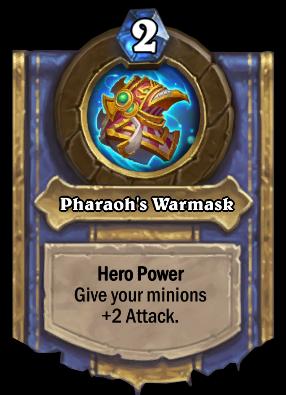 Pharaoh's Warmask Card Image