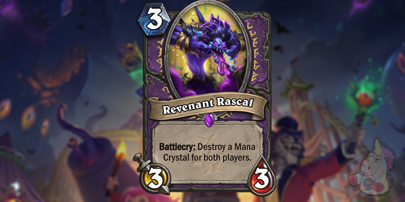 Revenant Rascal is a New Warlock Card Revealed for Hearthstone's Darkmoon Faire Expansion
