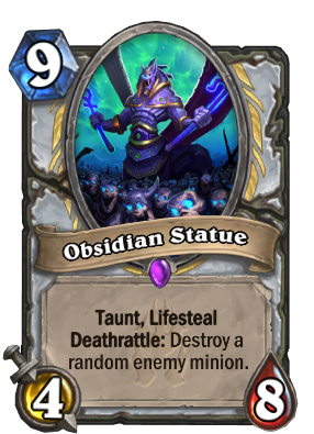 Obsidian Statue Card Image