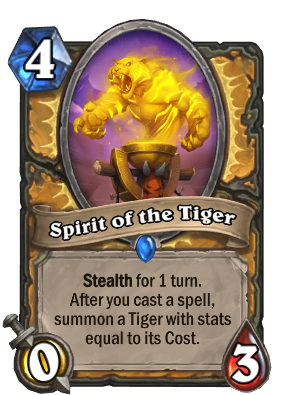 Spirit of the Tiger Card Image