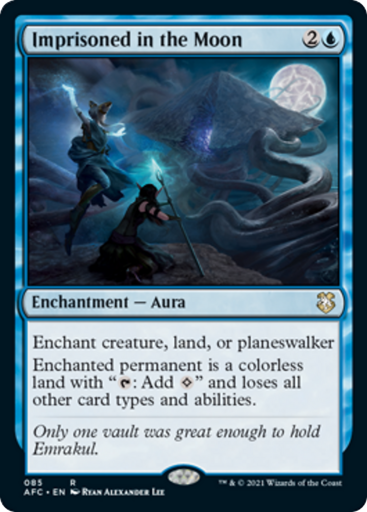 Imprisoned in the Moon Card Image
