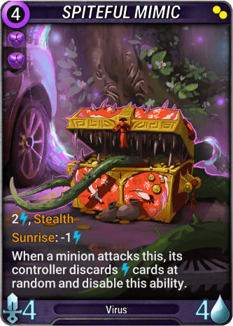 Spiteful Mimic Card Image
