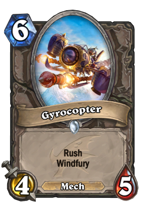 Gyrocopter Card Image