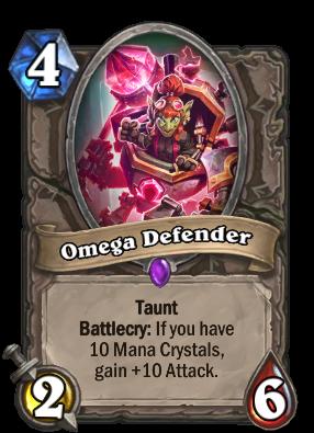 Omega Defender Card Image