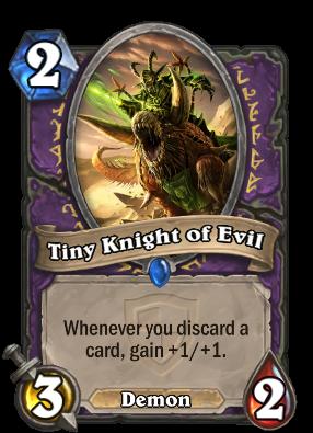 Tiny Knight of Evil Card Image