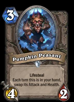Pumpkin Peasant Card Image