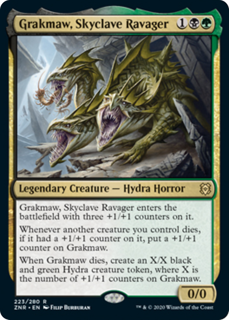 Grakmaw, Skyclave Ravager Card Image