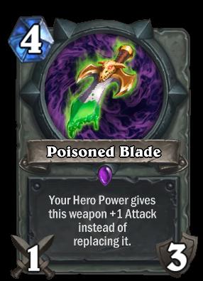 Poisoned Blade Card Image