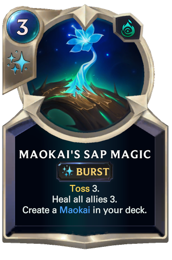 Maokai's Sap Magic Card Image