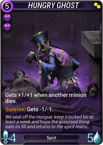 Hungry Ghost Card Image