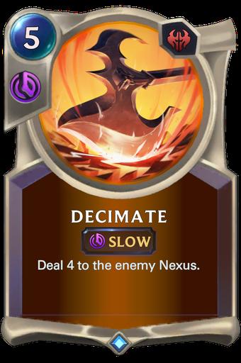 Decimate Card Image