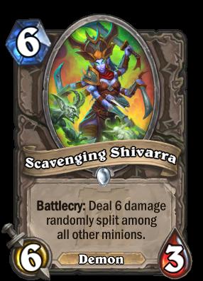 Scavenging Shivarra Card Image